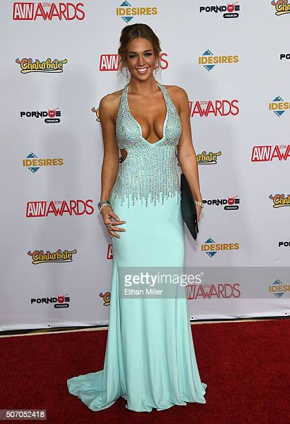 Adult Film Actress Val Dodds Attends The  Adult Video News Awards At The Hard Rock