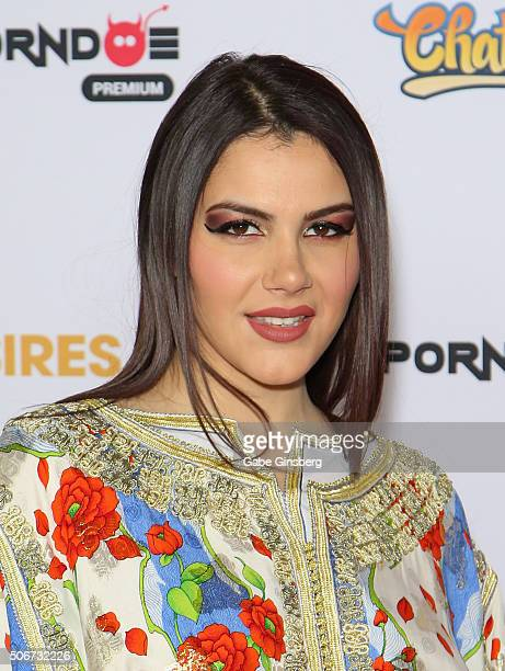 Adult film actress Valentina Nappi attends the 2016 Adult Video News Awards at the Hard Rock Hotel Casino on January 23 2016 in Las Vegas Nevada