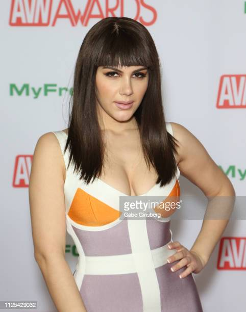 Adult film actress Valentina Nappi attends the 2019 Adult Video News Awards at The Joint inside the Hard Rock Hotel Casino on January 26 2019 in Las...