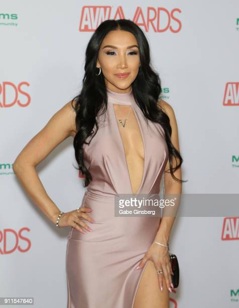 Adult film actress Vicki Chase attends the 2018 Adult Video News Awards at the Hard Rock Hotel Casino on January 27 2018 in Las Vegas Nevada
