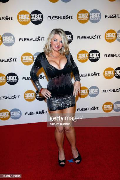 Adult film actress Vicky Vette arrives at the 2015 Xbiz Awards in Los Angeles USA on 15 January 2015 Photo Hubert Boesl NO WIRE SERVICE | usage...