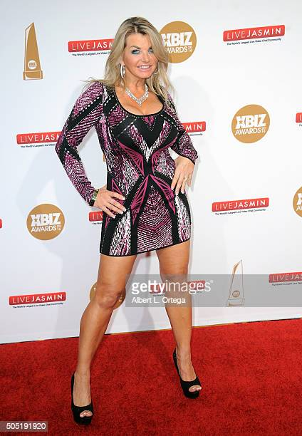 Adult film actress Vicky Vette arrives for the 2016 XBIZ Awards held at JW Marriott Los Angeles at LA LIVE on January 15 2016 in Los Angeles...