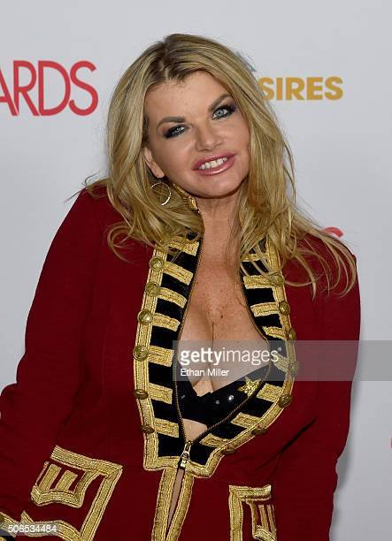 Adult film actress Vicky Vette attends the 2016 Adult Video News Awards at the Hard Rock Hotel Casino on January 23 2016 in Las Vegas Nevada