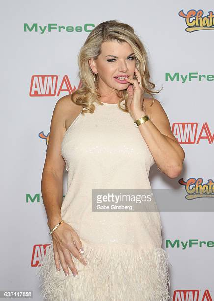 Adult film actress Vicky Vette attends the 2017 Adult Video News Awards at the Hard Rock Hotel Casino on January 21 2017 in Las Vegas Nevada
