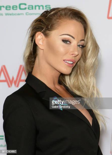 Adult film actress Victoria Rae Black attends the 2018 Adult Video News Awards at the Hard Rock Hotel Casino on January 27 2018 in Las Vegas Nevada