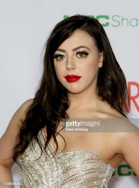 Adult film actress Whitney Wright attends the 2019 Adult Video News Awards at The Joint inside the Hard Rock Hotel Casino on January 26 2019 in Las...