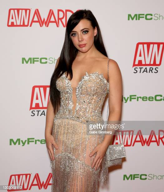Adult film actress Whitney Wright attends the 2020 Adult Video News Awards at The Joint inside the Hard Rock Hotel Casino on January 25 2020 in Las...