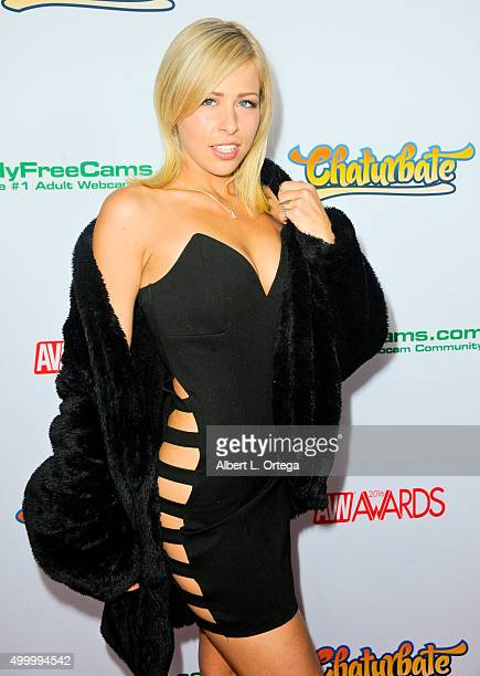 Adult film actress Zoey Monroe at the 2016 AVN Awards Nomination Party held at Avalon on November 19 2015 in Hollywood California