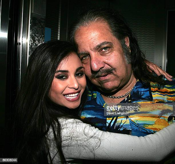 Adult film actress/AVN correspondent Michelle Maylene and actor Ron Jeremy and attend the premiere of the documentary Naked Ambition An R Rated Look...