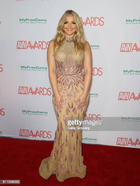 Adult film actress/director Alexis Texas attend the 2018 Adult Video News Awards at the Hard Rock Hotel Casino on January 27 2018 in Las Vegas Nevada