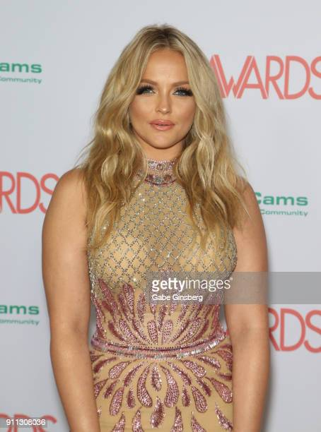 Adult film actress/director Alexis Texas attend the 2018 Adult Video News Awards at the Hard Rock Hotel & Casino on January 27, 2018 in Las Vegas,...