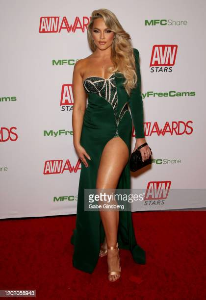 Adult film actress/director Alexis Texas attends the 2020 Adult Video News Awards at The Joint inside the Hard Rock Hotel Casino on January 25 2020...