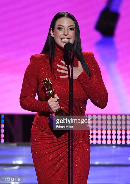 Adult Film Actress Director Angela White Accepts The Award