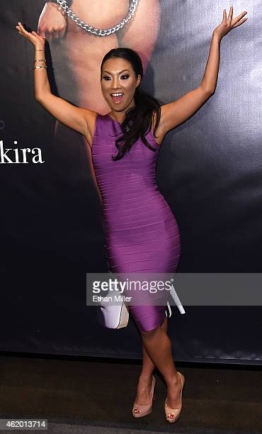 Adult film actress/director Asa Akira attends the 2015 AVN Adult Entertainment Expo at the Hard Rock Hotel & Casino on January 22, 2015 in Las Vegas,...