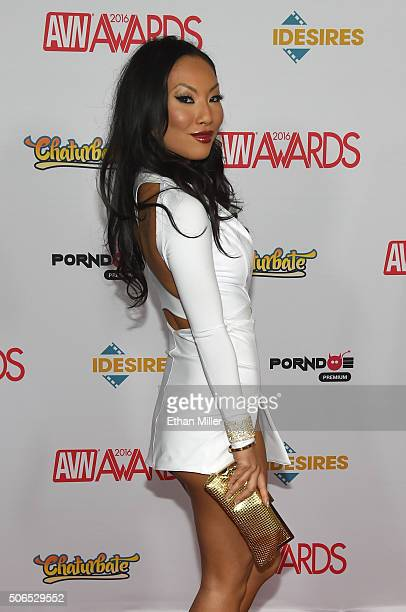 Adult film actress/director Asa Akira attends the 2016 Adult Video News Awards at the Hard Rock Hotel Casino on January 23 2016 in Las Vegas Nevada