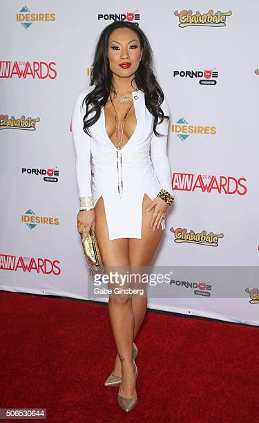 Adult film actress/director Asa Akira attends the 2016 Adult Video News Awards at the Hard Rock Hotel & Casino on January 23, 2016 in Las Vegas,...