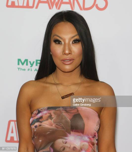 Adult film actress/director Asa Akira attends the 2018 Adult Video News Awards at the Hard Rock Hotel Casino on January 27 2018 in Las Vegas Nevada