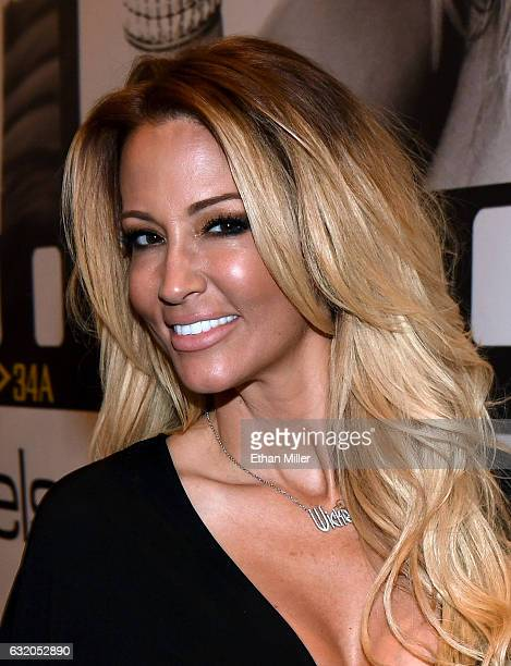 Adult film actress/director jessica drake appears at the Wicked Pictures booth at the 2017 AVN Adult Entertainment Expo at the Hard Rock Hotel Casino...