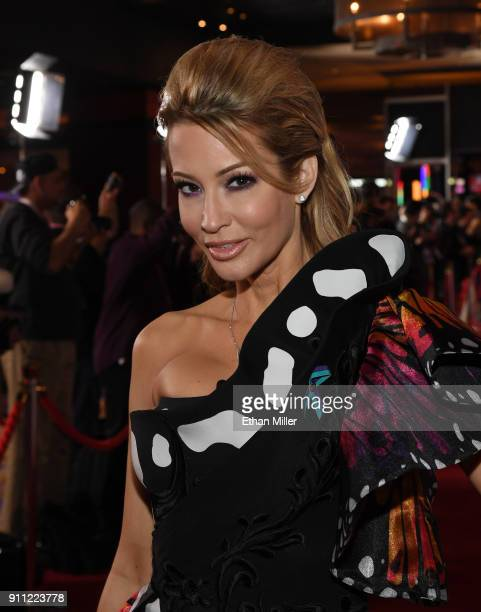 Adult film actress/director jessica drake attends the 2018 Adult Video News Awards at the Hard Rock Hotel Casino on January 27 2018 in Las Vegas...