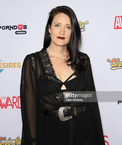 Adult film actress/director Kimberly Kane attends the 2016 Adult Video News Awards at the Hard Rock Hotel Casino on January 23 2016 in Las Vegas...