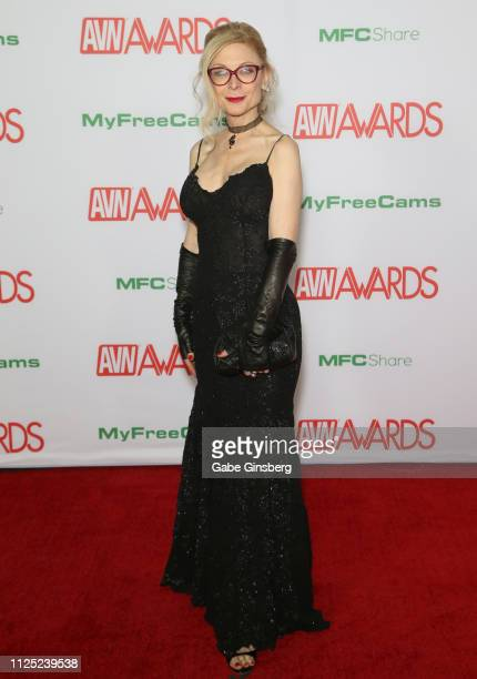 Adult film actress/director Nina Hartley attends the 2019 Adult Video News Awards at The Joint inside the Hard Rock Hotel Casino on January 26 2019...