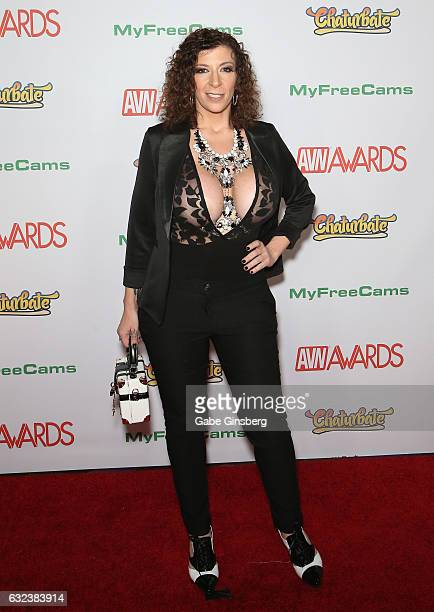 Adult film actress/director Sara Jay attends the 2017 Adult Video News Awards at the Hard Rock Hotel Casino on January 21 2017 in Las Vegas Nevada