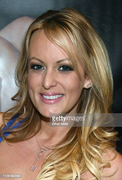 Adult film actress/director Stormy Daniels attends a signing for her book 'Full Disclosure' at the 2019 AVN Adult Entertainment Expo at the Hard Rock...