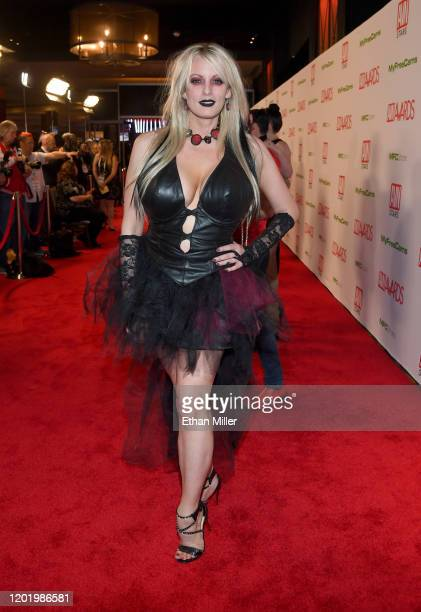 Adult film actress/director Stormy Daniels attends the 2020 Adult Video News Awards at The Joint inside the Hard Rock Hotel & Casino on January 25,...