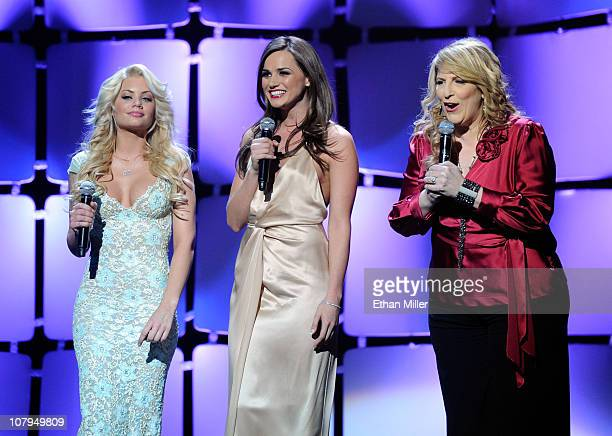 Adult film actresses Riley Steele and Tori Black and comedian Lisa Lampanelli host the 28th annual Adult Video News Awards Show at The Pearl concert...