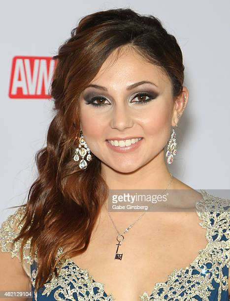 Adult film actress/model Ariana Marie arrives at the 2015 Adult Video News Awards at the Hard Rock Hotel Casino on January 24 2015 in Las Vegas Nevada