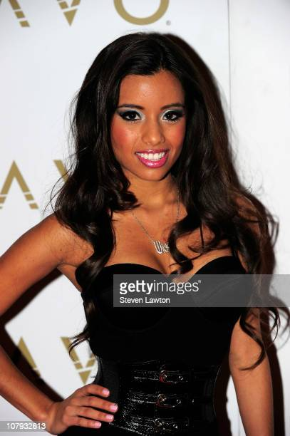 Adult film actress/television personality Lupe Fuentes arrives to host 'ILoveLupecom' at the Lavo Restaurant Nightclub at The Palazzo on January 7...