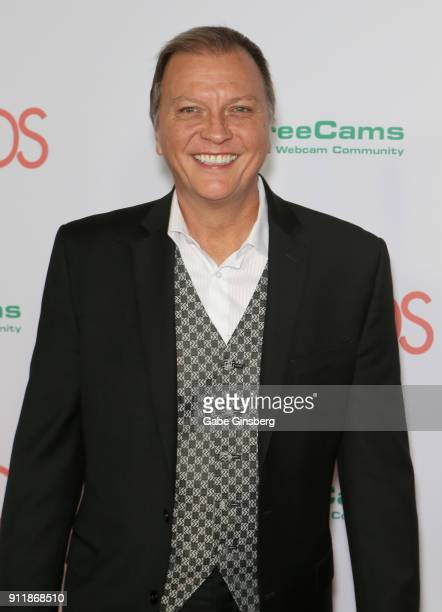 Adult film director Jonathan Morgan attends the 2018 Adult Video News Awards at the Hard Rock Hotel Casino on January 27 2018 in Las Vegas Nevada