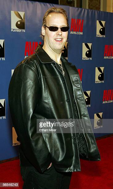 Adult film director Nic Andrews arrives at the Adult Video News Awards Show at the Venetian Resort Hotel and Casino January 7 2006 in Las Vegas Nevada