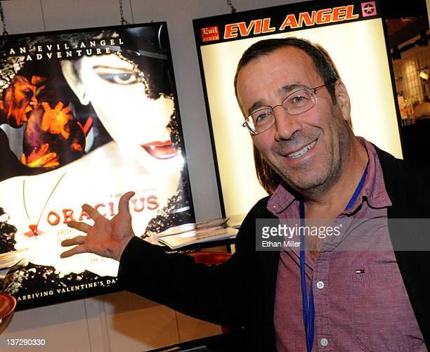 Adult film producer/director John Stagliano appears at the Evil Angel booth at the 2012 AVN Adult Entertainment Expo at the Hard Rock Hotel Casino...