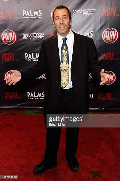 Adult Film Producer Director John Stagliano Arrives At The 27th Annual Adult Video News Awards