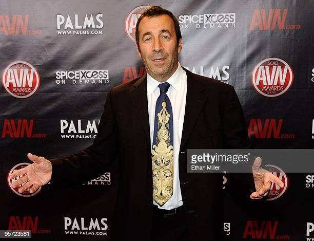 Adult film producer/director John Stagliano arrives at the 27th annual Adult Video News Awards Show at the Palms Casino Resort January 9 2010 in Las...