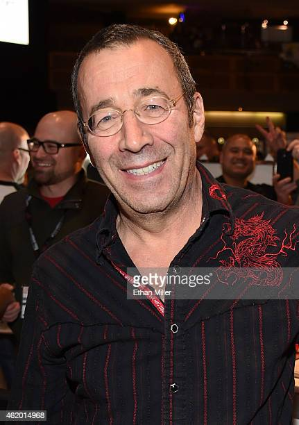 Adult film producer/director John Stagliano poses at the Evil Angel booth at the 2015 AVN Adult Entertainment Expo at The Joint inside the Hard Rock...