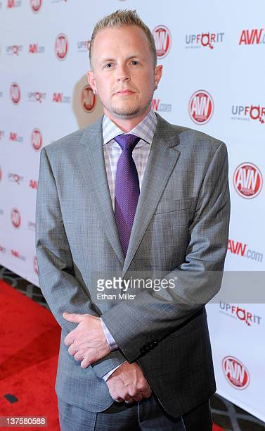 Adult film producer/director Jules Jordan arrives at the 29th annual Adult Video News Awards Show at the Hard Rock Hotel Casino January 21 2012 in...