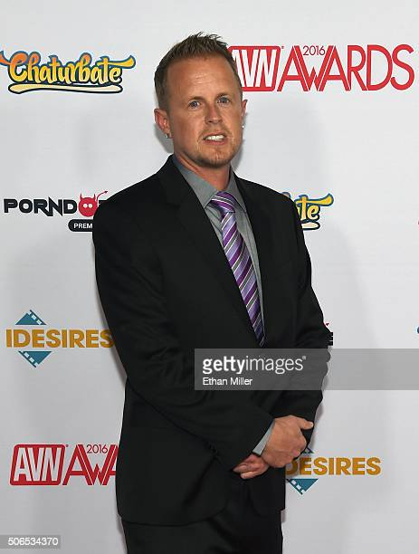 Adult film producer/director Jules Jordan attends the 2016 Adult Video News Awards at the Hard Rock Hotel Casino on January 23 2016 in Las Vegas...