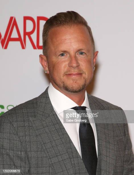 Adult film producer/director Jules Jordan attends the 2020 Adult Video News Awards at The Joint inside the Hard Rock Hotel Casino on January 25 2020...