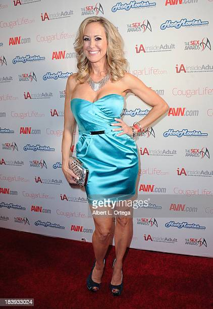 Adult film sctress Brandi Love arrives for The 1st Annual Sex Awards 2013 held at Avalon on October 9 2013 in Hollywood California