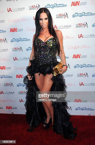 Adult film sctress Brandy Aniston arrives for The 1st Annual Sex Awards 2013 held at Avalon on October 9 2013 in Hollywood California