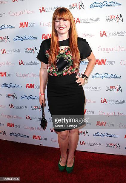Adult film sctress Claire Robbins arrives for The 1st Annual Sex Awards 2013 held at Avalon on October 9, 2013 in Hollywood, California.