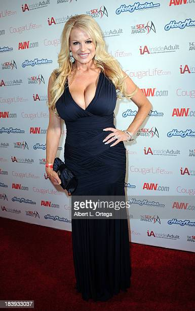 Adult film sctress Kelly Madison arrives for The 1st Annual Sex Awards 2013 held at Avalon on October 9 2013 in Hollywood California