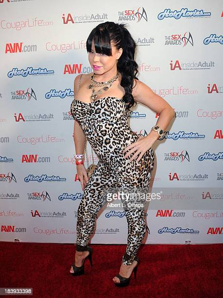 Adult film sctress Nikki Delano arrives for The 1st Annual Sex Awards 2013 held at Avalon on October 9 2013 in Hollywood California