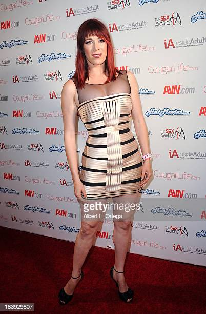 Adult film sctress Odile arrives for The 1st Annual Sex Awards 2013 held at Avalon on October 9 2013 in Hollywood California