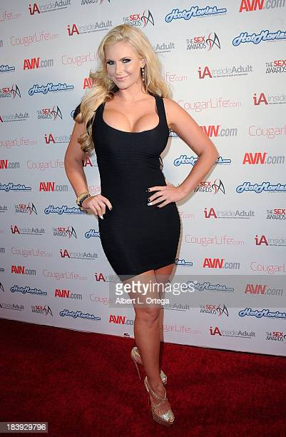 Adult film sctress Phoenix Marie arrives for The 1st Annual Sex Awards 2013 held at Avalon on October 9 2013 in Hollywood California