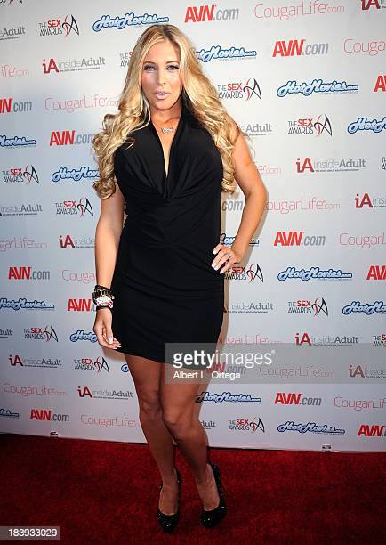 Adult film sctress Samantha Saint arrives for The 1st Annual Sex Awards 2013 held at Avalon on October 9 2013 in Hollywood California
