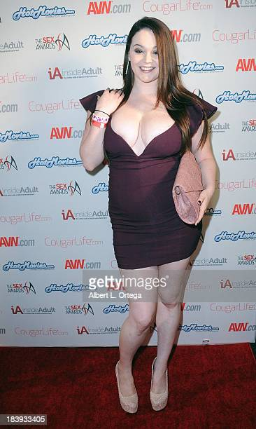 Adult film sctress Tessa Lane arrives for The 1st Annual Sex Awards 2013 held at Avalon on October 9 2013 in Hollywood California