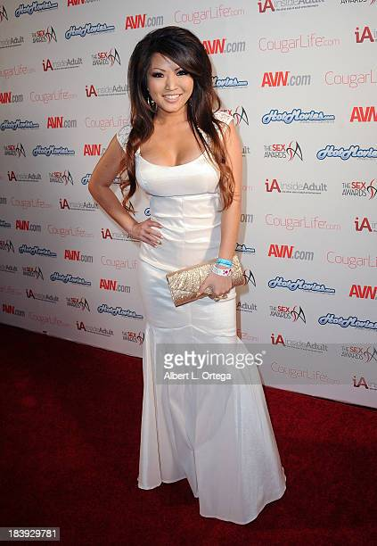Adult film sctress Tia Kai arrives for The 1st Annual Sex Awards 2013 held at Avalon on October 9 2013 in Hollywood California